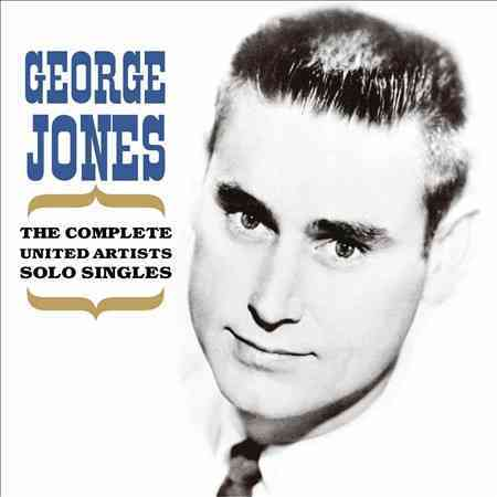 COMPLETE UNITED ARTISTS SOLO SINGLES BY JONES,GEORGE (CD)