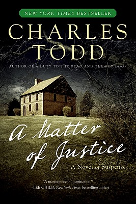 A Matter of Justice By Todd, Charles
